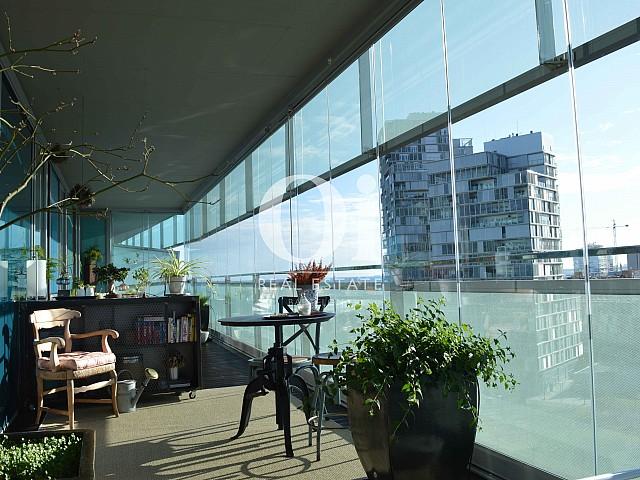 Terrasse d'appartement à vendre à Diagonal Mar, Barcelone