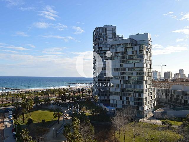 Шикарный вид из апартаментов класса люкс в зоне Diagonal Mar на продажу