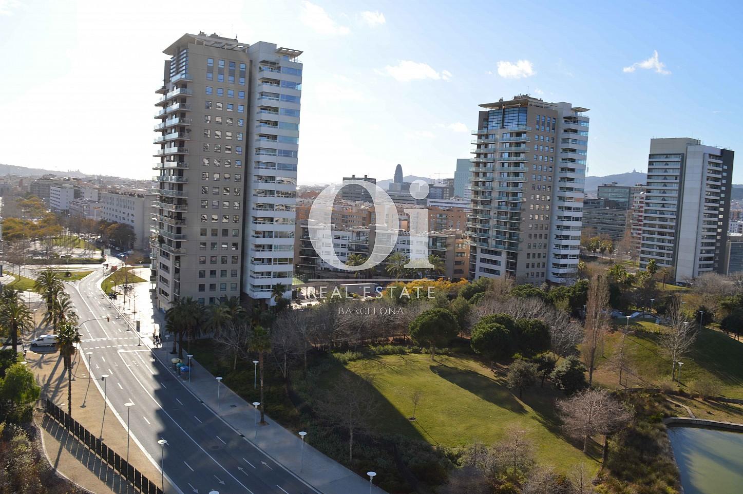 Vues panoramiques d'appartement à vendre à Diagonal Mar, Barcelone