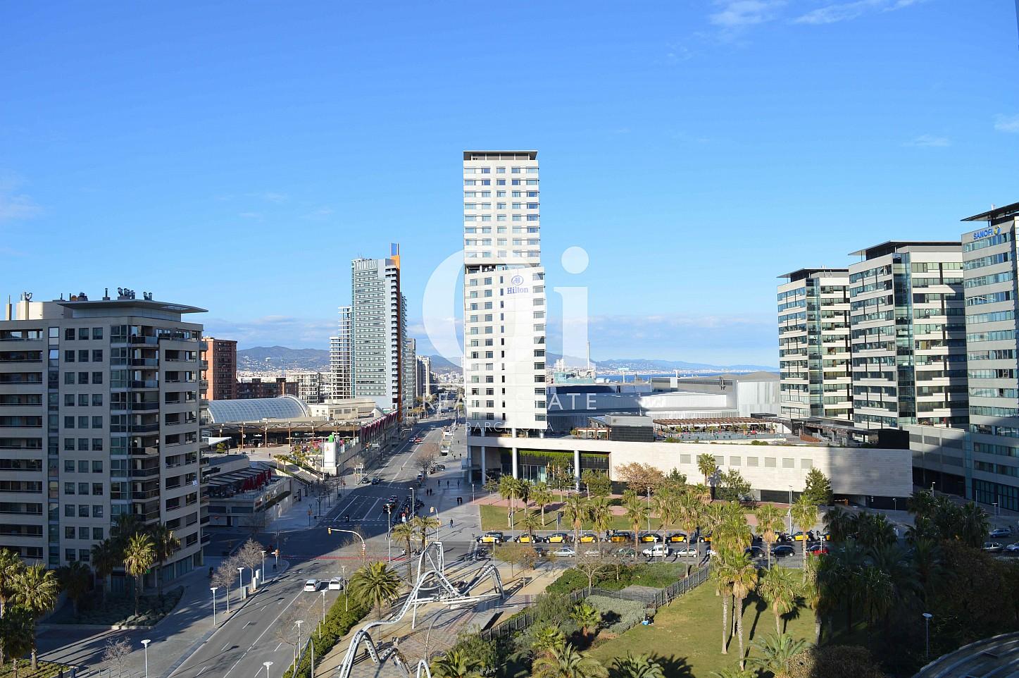 Wunderbarer Ausblick vom Apartment zum Verkauf, dirket am Meer