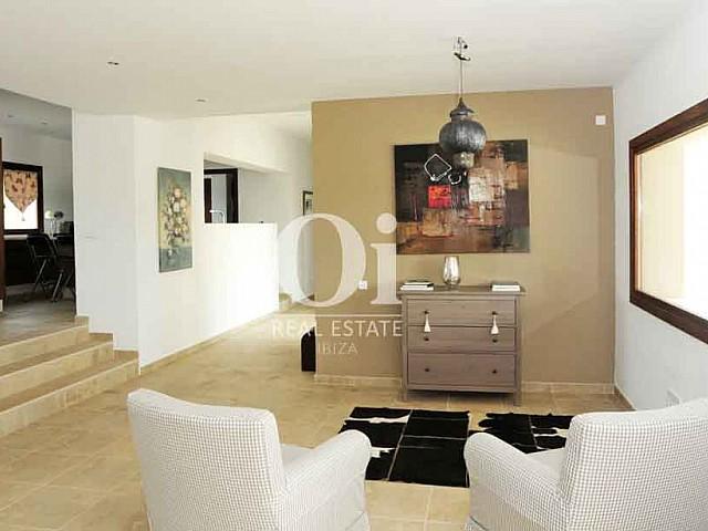 Salle de séjour de maison en location de séjour dans la zone de San Lorenzo, Ibiza