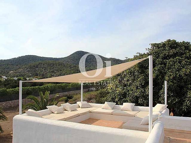 Zone chill-out de maison à louer de séjour à Es Codolar, Ibiza