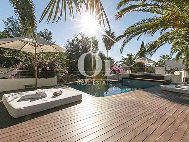 In schöner Gegend von Las Salinas von Ibiza, Villa zur Miete