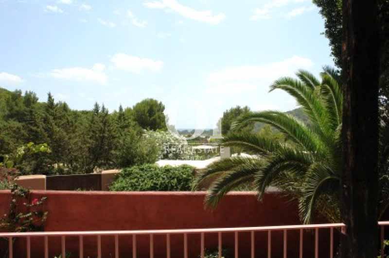 Vistas desde casa en alquiler de estancia en Ses Salines, Ibiza