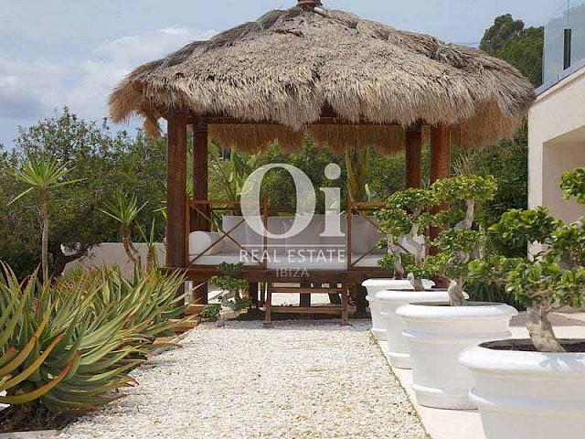 Zone chill-out de maison en location de séjour à Les Salinas, Ibiza