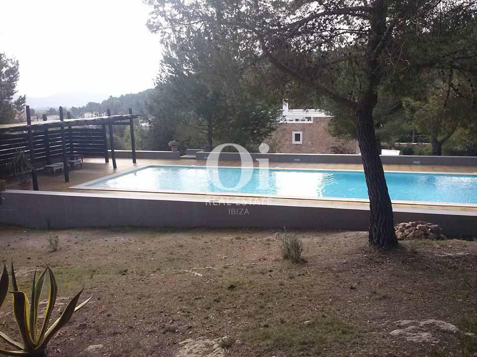Piscina de villa en alquiler vacacional en San José, Ibiza