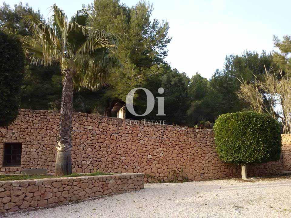 Clôture de maison en location de séjour à San José, Ibiza