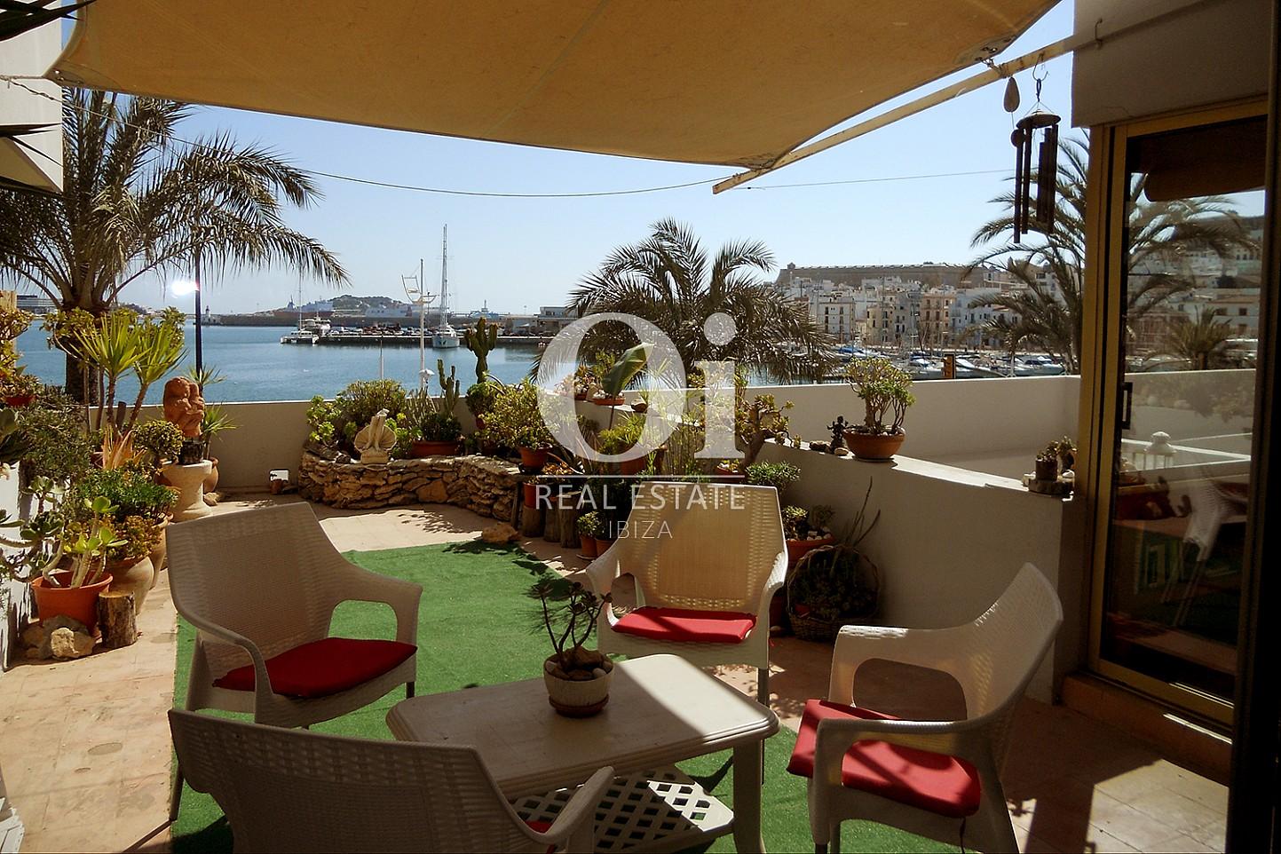Terrasse d'apartement à louer à Marina Botafoch, Ibiza