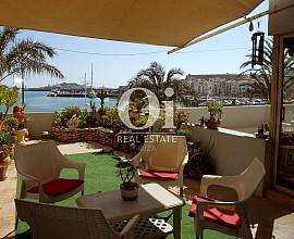 Apartamento en alquiler en el puerto de Marina Botafoch, Ibiza