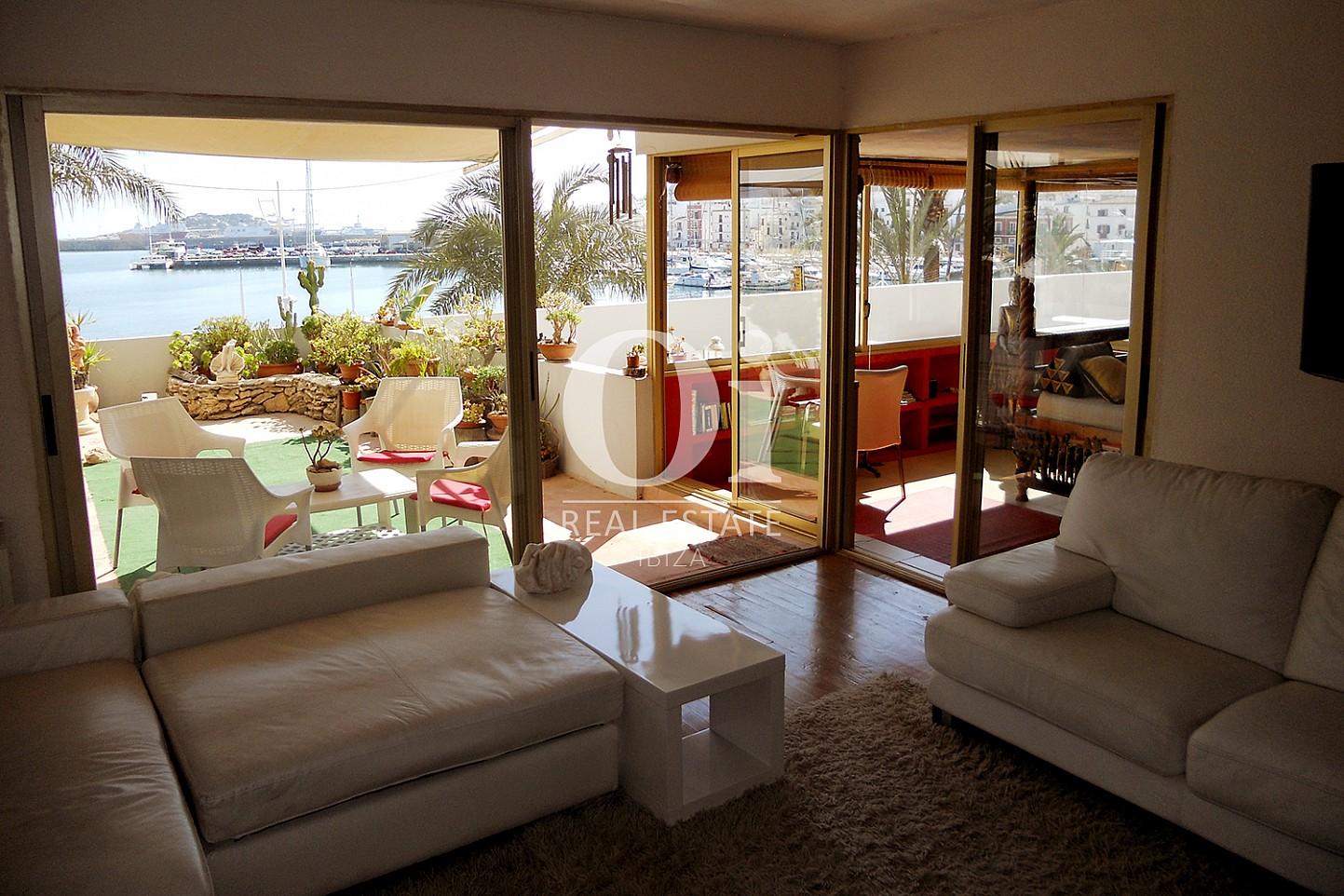 Salon d'appartement à louer à Marina Botafoch, Ibiza