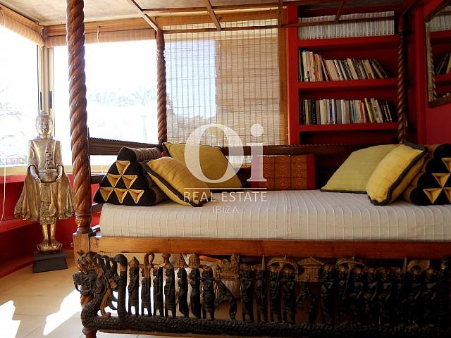 Zone Chill-out d'appartement à louer à Marina Botafoch, Ibiza