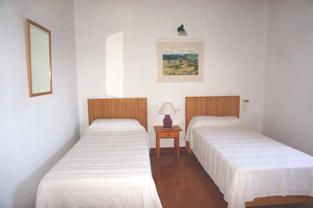 Cuarto doble de casa en alquiler de estancia en Formentera