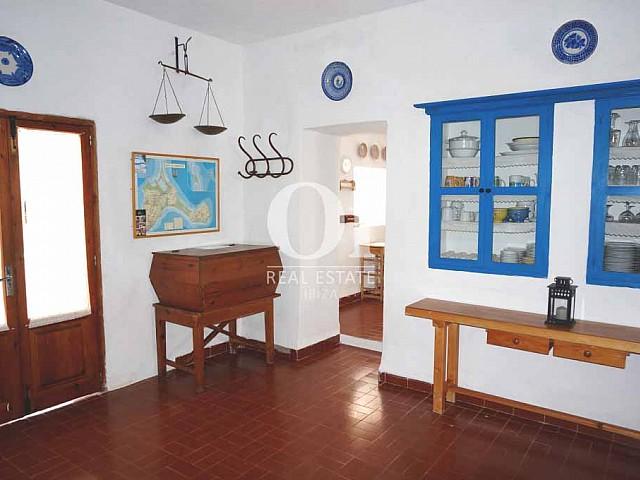 Recibidor de casa en alquiler de estancia en Formentera
