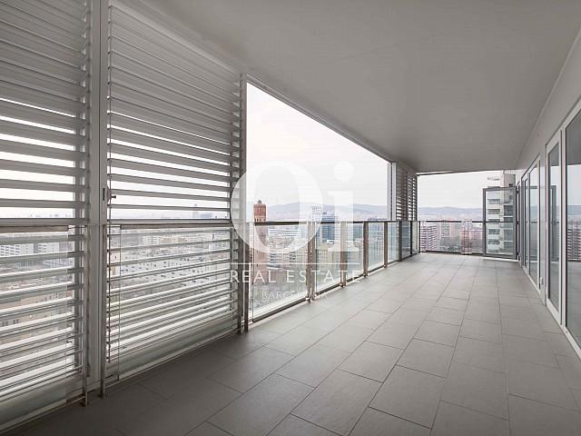 Terraza de piso en venta en Diagonal Mar, Barcelona