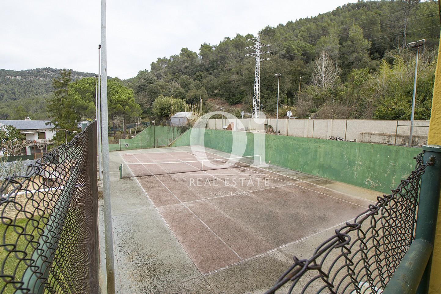 Cour de tennis de maison à vendre à Tagament, Barcelone