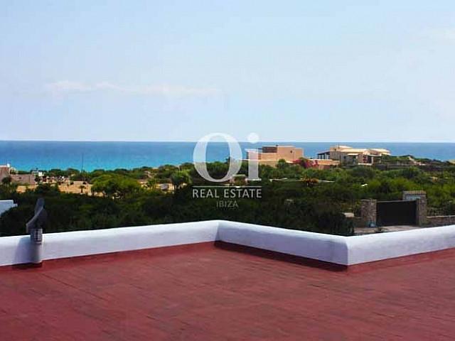 Atemberaubender Meerblick vom Ferienhaus auf Formentera