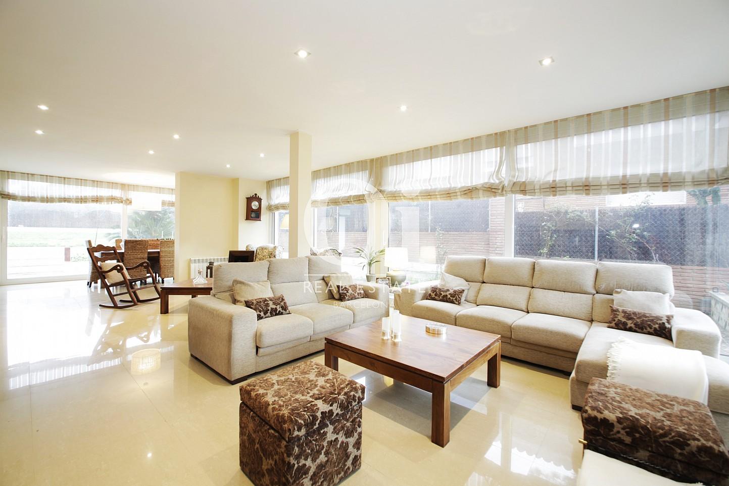 Sala de estar de casa en alquiler en Premia de Dalt, Maresme, Barcelona