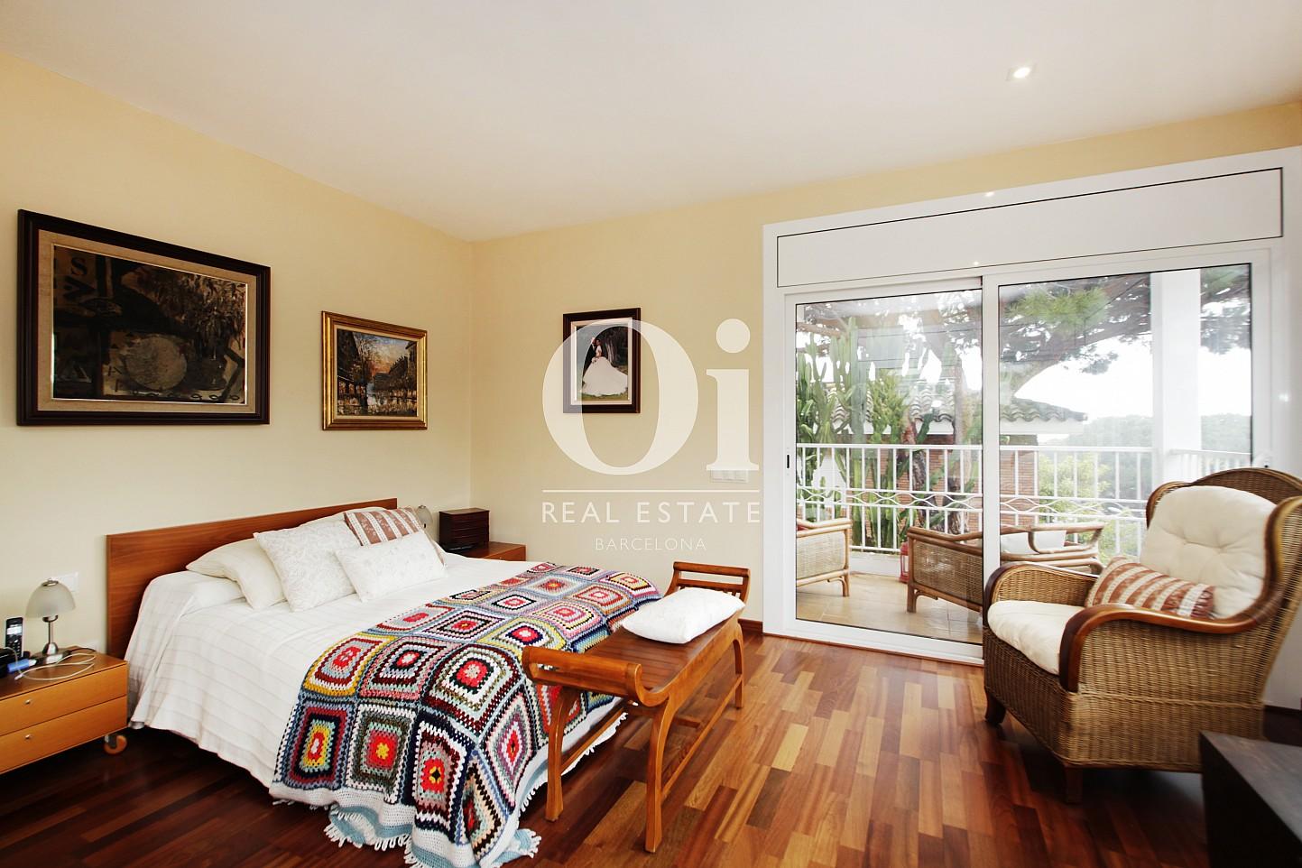 Dormitorio doble de casa en alquiler en Premia de Dalt, Maresme, Barcelona