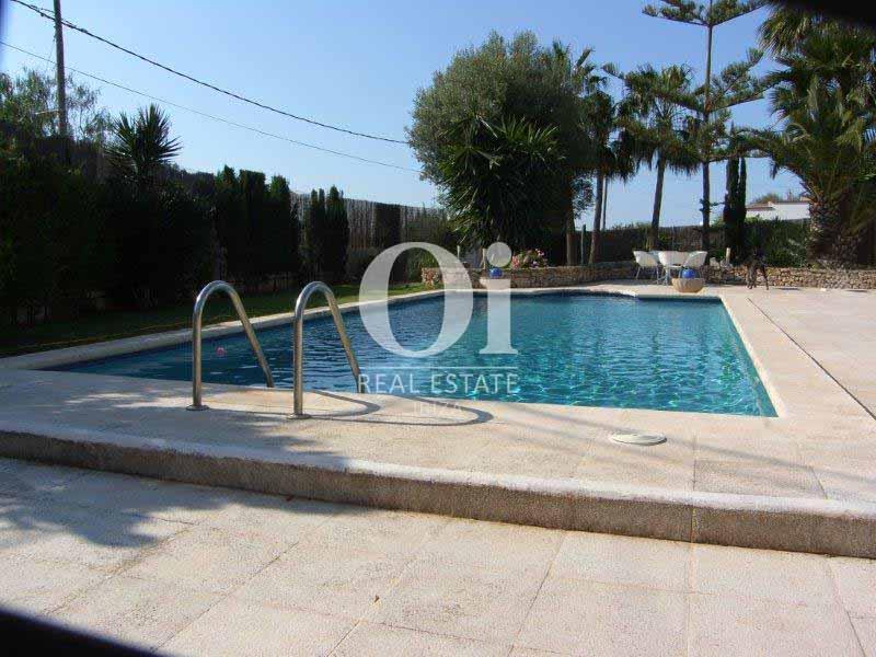 Piscina de casa en venta en San José, Ibiza