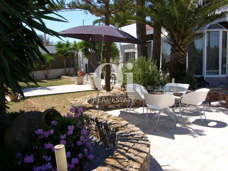 Terraza de casa en venta en San José, Ibiza