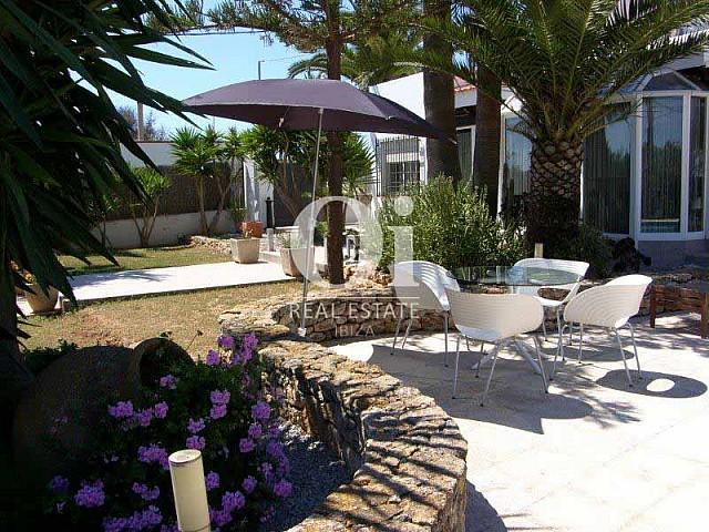 Jardin de maison en vente à San José, Ibiza