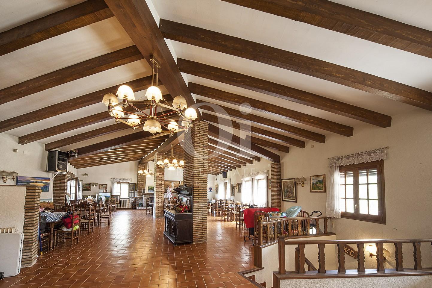 Zona de restaurante de casa en venta en Borrassà, alto Ampurdán, Gerona