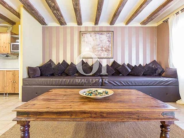 Salle de séjour d'appartement en vente à carrer Tallers, El Gòtic, Barcelona