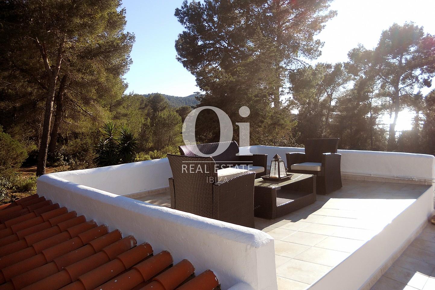 Terraza  de casa en venta en Las Salinas, Ibiza