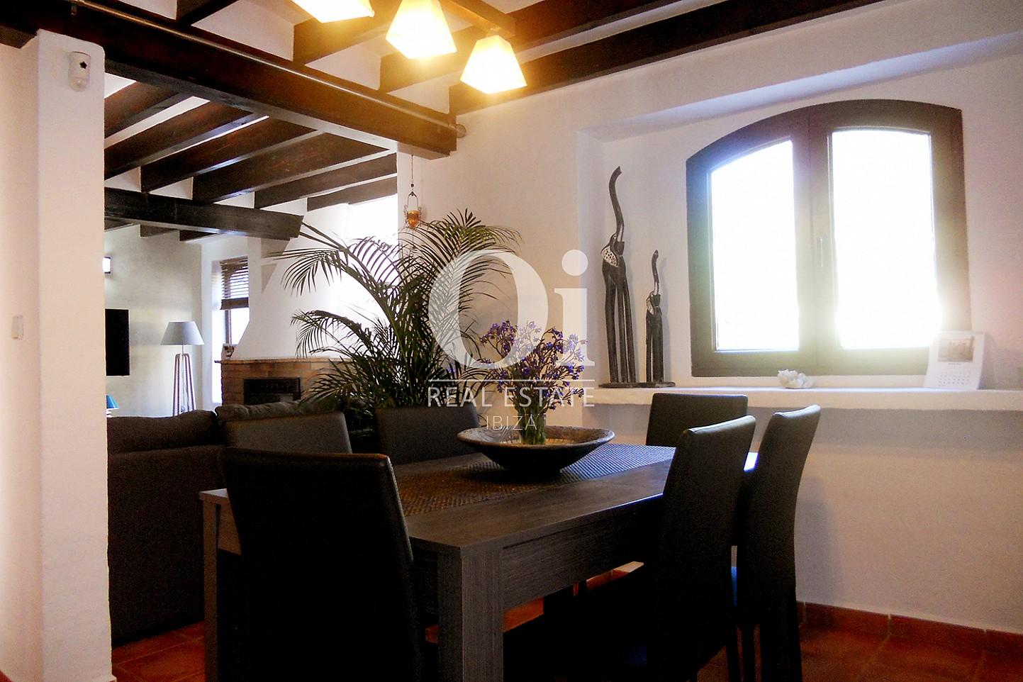 Salle à manger de maison en vente à Las Salinas, Ibiza