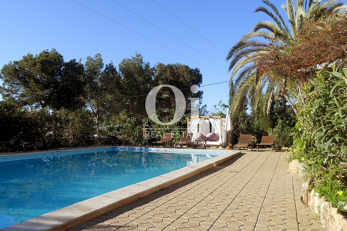 piscina de casa en venta en Las Salinas, Ibiza
