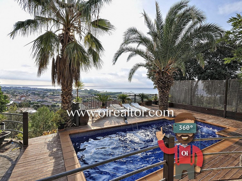 Дом для продажи в Санта-Сусане, с прекрасным видом на Средиземное море