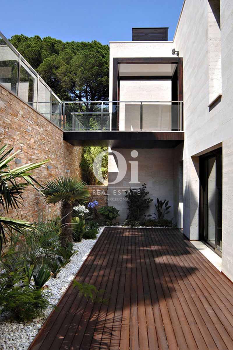Blick auf die Fassade vom smarten Haus zum Kauf, San Feliu de Guíxols