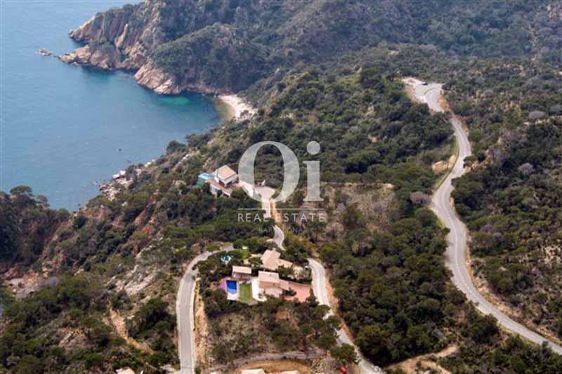 Blick zur Costa Brava vom smarten Haus zum Kauf, San Feliu de Guíxols