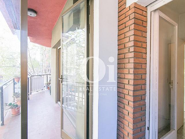 Blick auf den Balkon der Wohnung zum Kauf, Hospital de Sant Pau