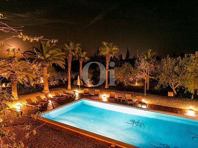 Piscine de maison pour séjour en location à San Jose, Ibiza