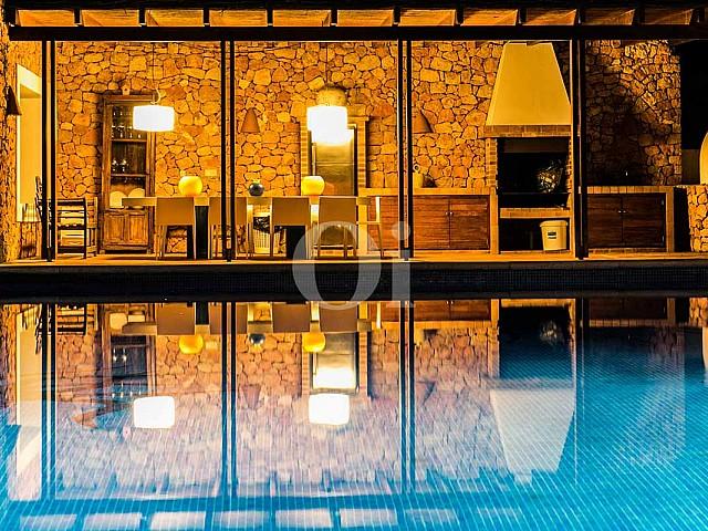 Rustikale Villa für Ferienaufenthalte zur Miete auf Ibiza, in San Jose