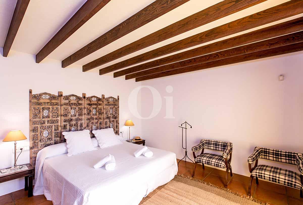 Dormitorio doble de casa en alquiler de estancia en San Jose, Ibiza