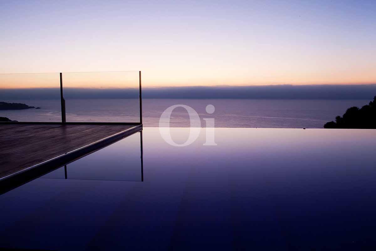 Vistas al mar desde casa en venta en Sant Feliu de Guíxols