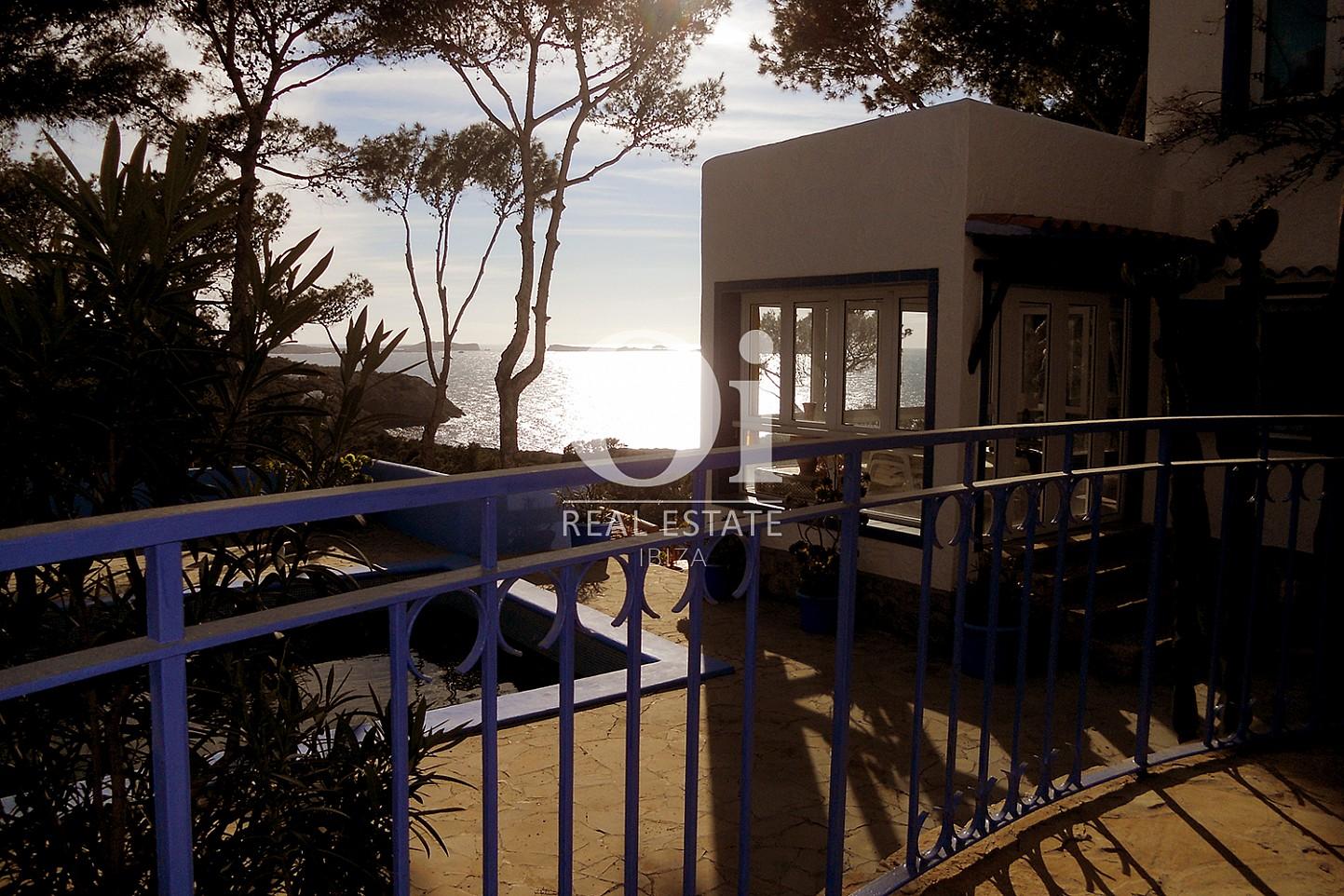 Balcon de maison en vente à Punta Galera, Ibiza