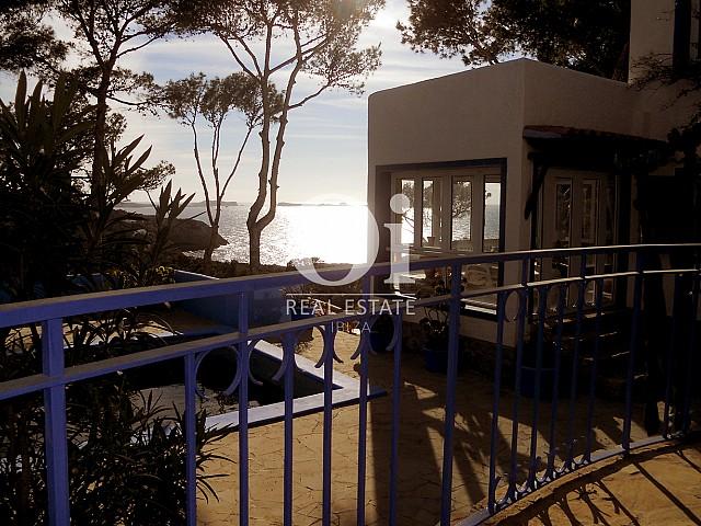 Balcón de casa en venta en Punta Galera, Ibiza
