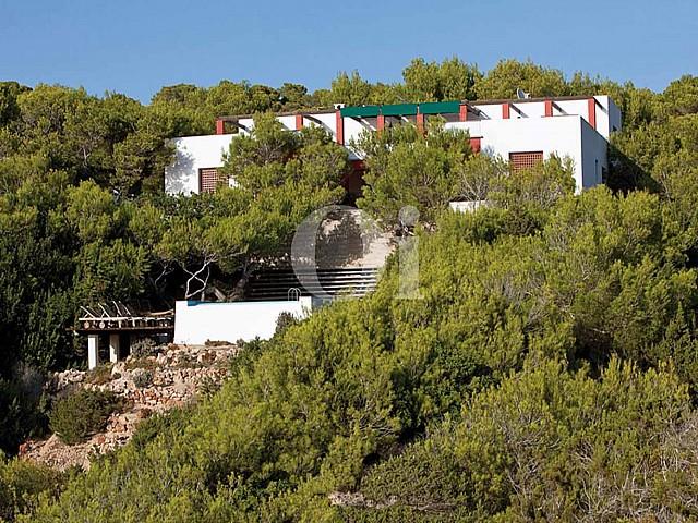 Blick in die Umgebung der Ferien-Villa zur Miete auf Fomentera