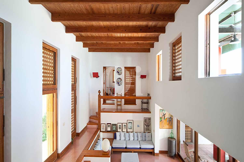 Étage de la maison en location à Formentera