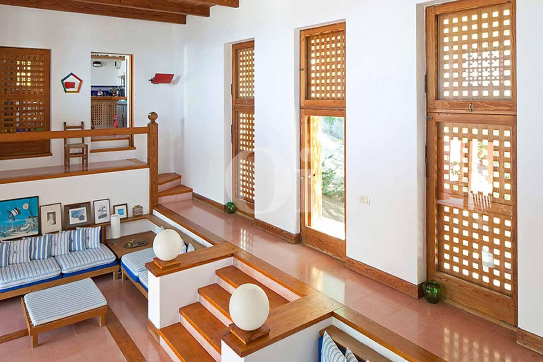 Salón de casa en alquiler de estancia en Formentera