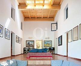 Dans un cadre naturel, fantastique villa en location à Es Caló, Formentera