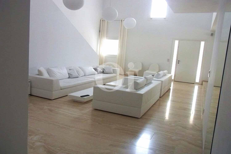 Salón de casa de alquiler de estancia en San José, Ibiza