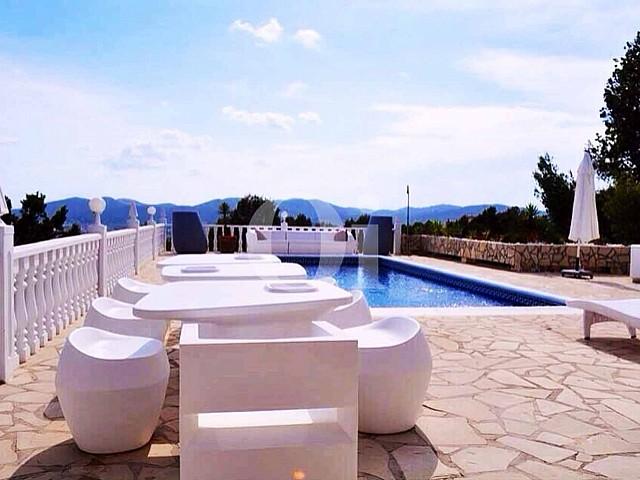 Fantàstica vila en lloguer de temporada a Can Furnet, Eivissa