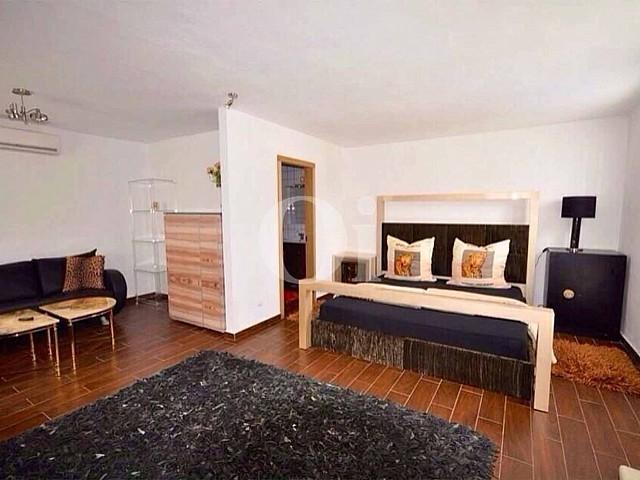 Chambre de la villa en location à Can Furnet, Ibiza