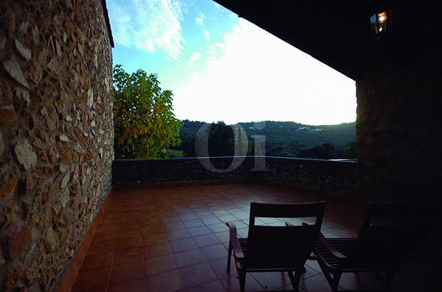 Terrasse de la maison en vente à Calonge, Costa Brava, Gerona