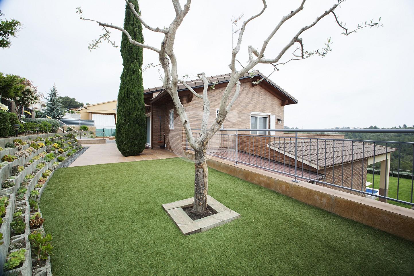 Blick auf den Außenbereich vom Haus zum Verkauf, Segur de Calafell