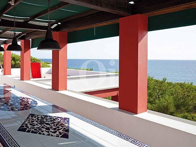 Vistas de villa en venta en Formentera